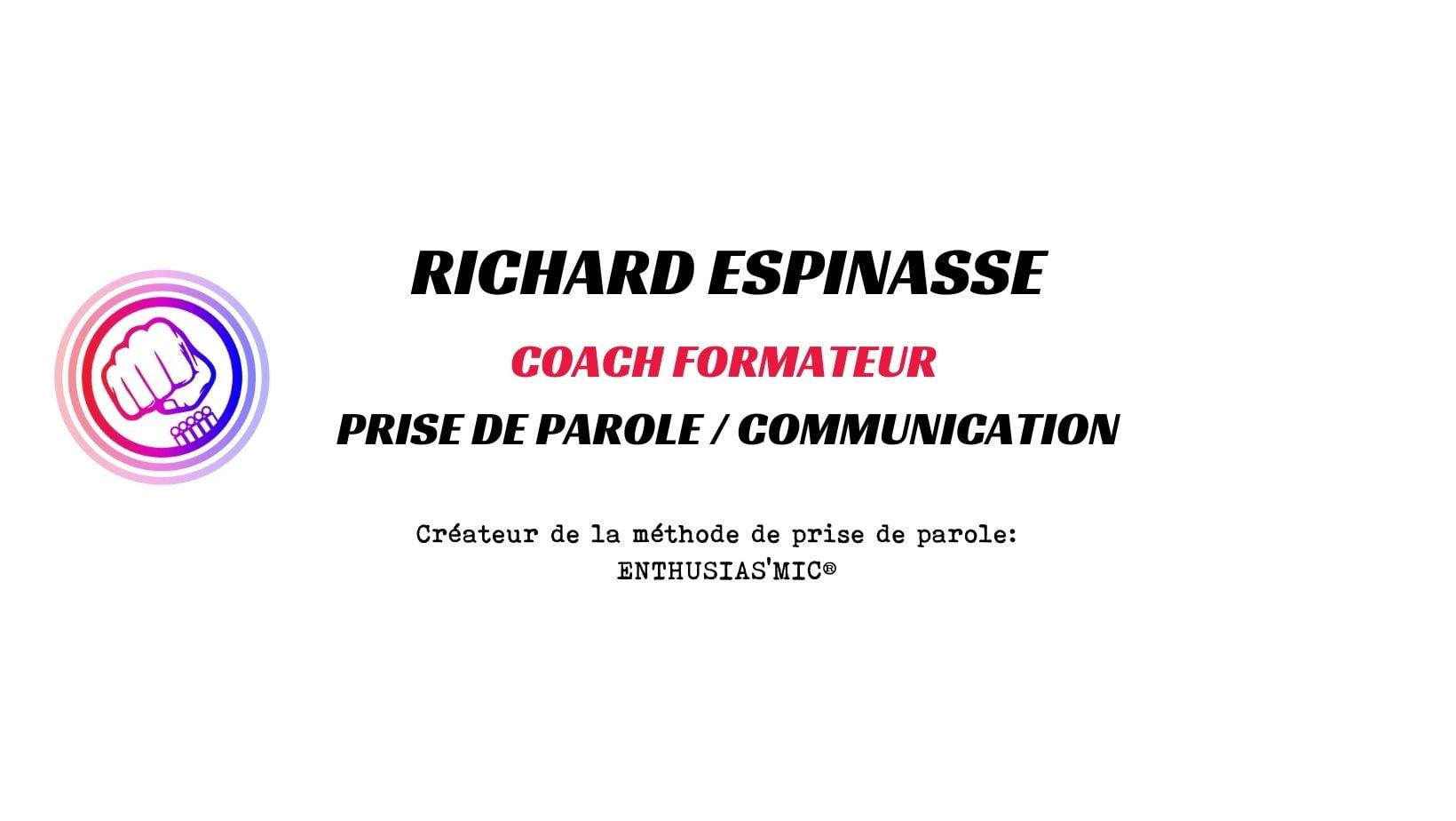 Logo Coach Richard ESPINASSE Logo