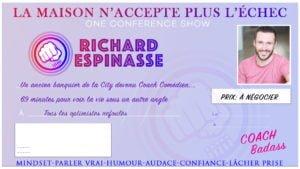 Affiche Conférence Richard Espinasse