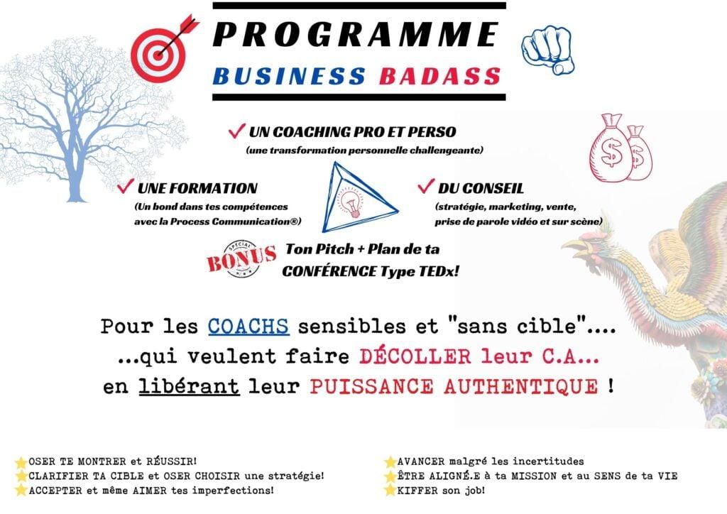 Coach RICHARD ESPINASSE Programme Business Badass