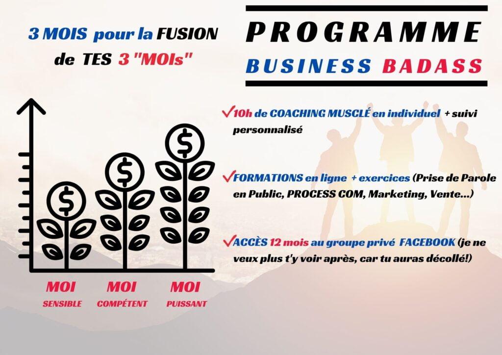 Coach Richard ESPINASSE Coach Badass Détails Programme Business Badass