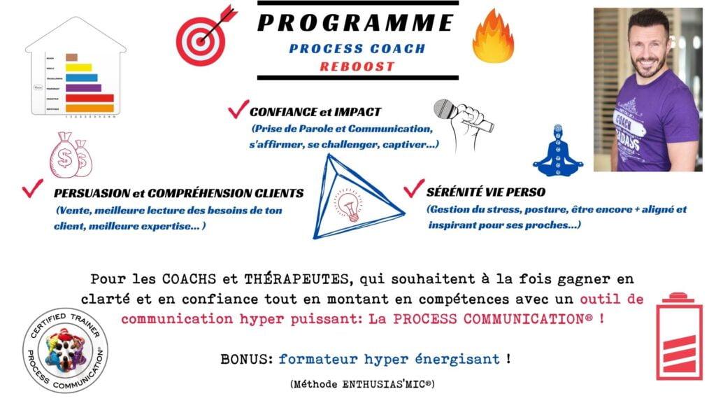 Programme Process Coach REBOOST
